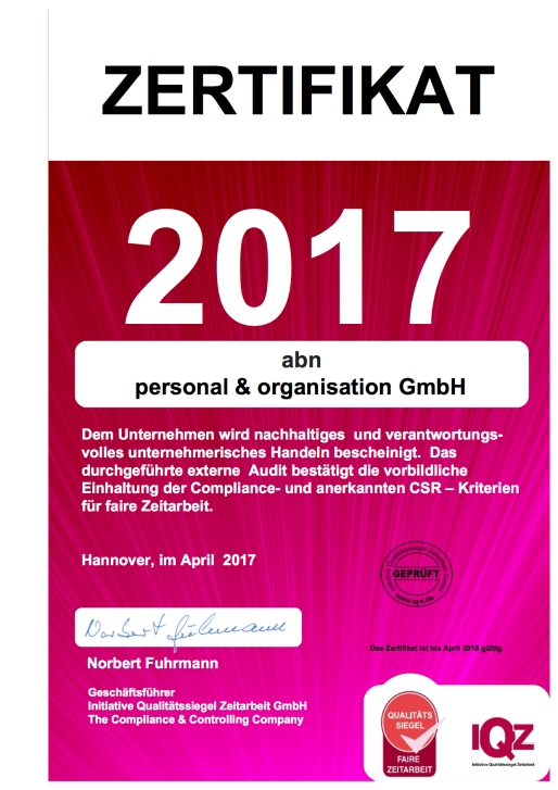 iQZ_Zertifikat abn 2017